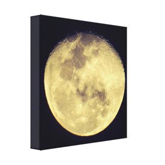Crystal Clear Moon Canvas Print