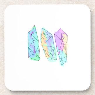 crystal coaster