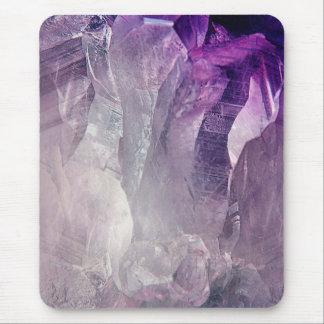 Crystal Core Abstract Mouse Pad