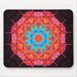 Crystal Core Processor Mandala Mouse Pad
