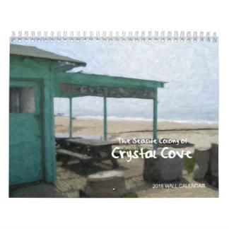 Crystal Cove, Newport Coast, Calif. 2018 Calendar