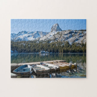 Crystal Crag and Lake George Jigsaw Puzzle