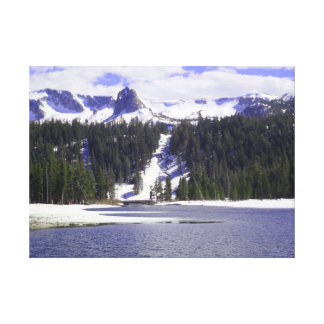 Crystal Crag from Twin Lakes Canvas Print