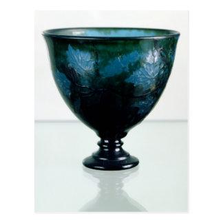 Crystal cup, 'Par une Telle Nuit', 1894 Postcard