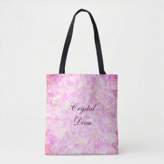 Crystal Diva Tote Bag