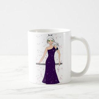 Crystal Dress Basic White Mug