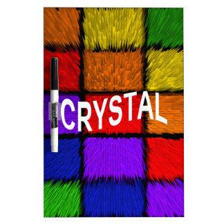 CRYSTAL Dry-Erase WHITEBOARD