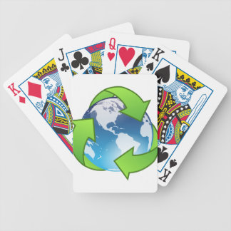Crystal Earth Cycle of Life Bicycle Playing Cards