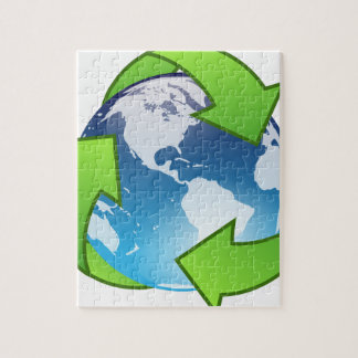 Crystal Earth Cycle of Life Jigsaw Puzzle