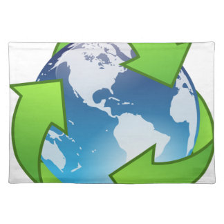 Crystal Earth Cycle of Life Placemat