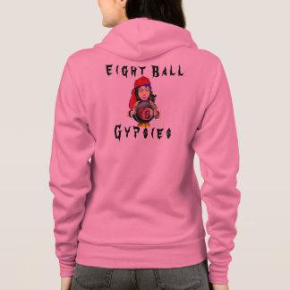 Crystal Eight Ball w/Gypsy Hoodie
