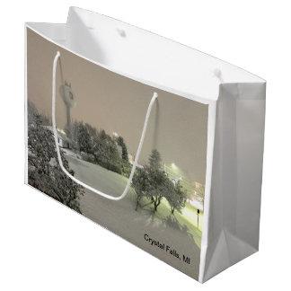 Crystal Falls, MI Winter Gift Bag