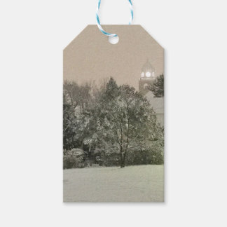 Crystal Falls, MI Winter Gift Tags