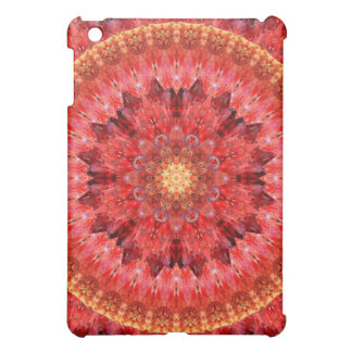 Crystal Fire Mandala Case For The iPad Mini