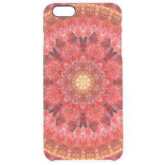 Crystal Fire Mandala Clear iPhone 6 Plus Case
