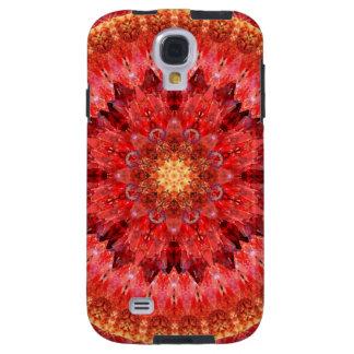 Crystal Fire Mandala Galaxy S4 Case