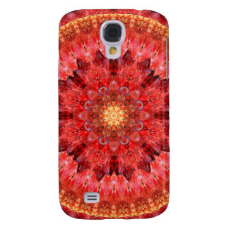 Crystal Fire Mandala Galaxy S4 Covers