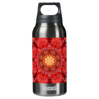 Crystal Fire Mandala Insulated Water Bottle