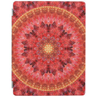 Crystal Fire Mandala iPad Cover