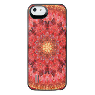 Crystal Fire Mandala iPhone SE/5/5s Battery Case