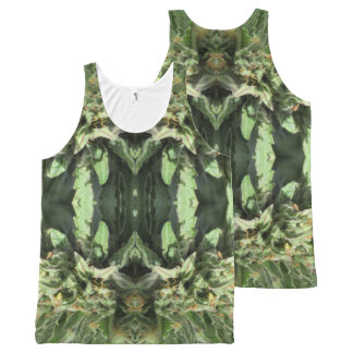 Crystal Flames 1 All-Over Print Singlet
