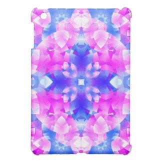 Crystal Flowers Mandala iPad Mini Cover
