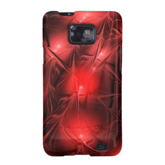Crystal gazing (red) samsung galaxy s2 cases