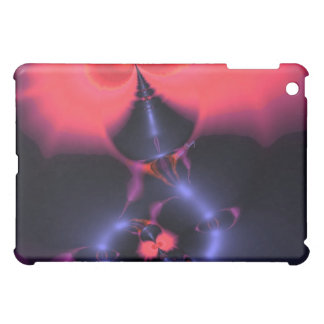 Crystal Ghost – Salmon & Indigo Surprise Embrace iPad Mini Covers