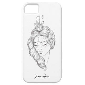 Crystal Girl Iphone Case iPhone 5 Cases