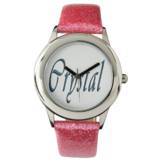 Crystal Girls Name Logo, Watch
