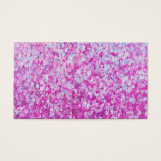 Crystal Glitter Artwork Business Card