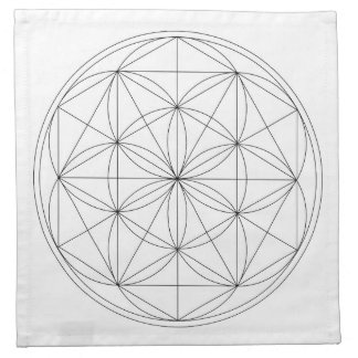 Crystal Grid Cloth Template