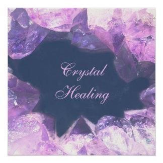 Crystal Healing Poster