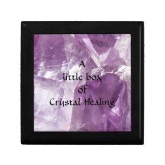 Crystal Healing Small Square Gift Box