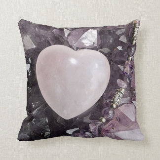 Crystal Heart Cushion