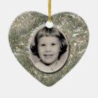 Crystal Heart Memorial Ornament Customisable