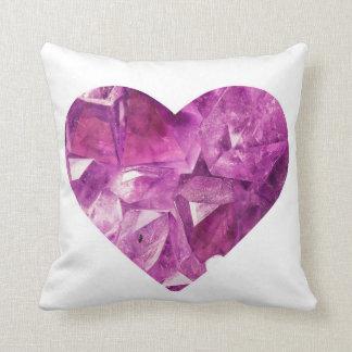 Crystal Heart Pillow