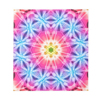 Crystal Hexagon Mandala Notepads