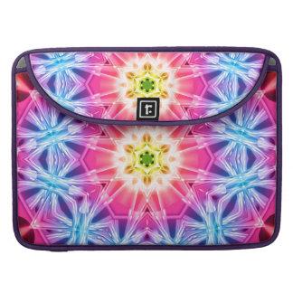 Crystal Hexagon Mandala Sleeves For MacBooks