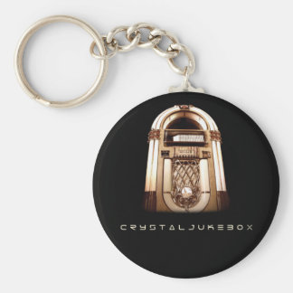 Crystal Jukebox Keychains
