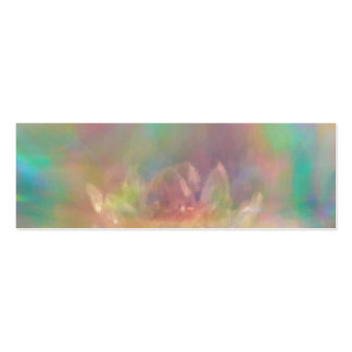 Crystal Lily Pack Of Skinny Business Cards