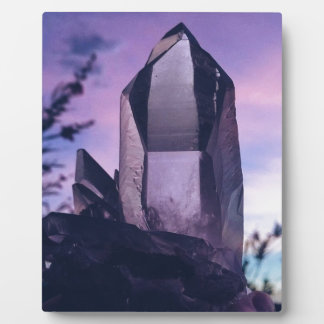 crystal lovers plaque