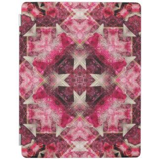 Crystal Matrix Mandala iPad Cover