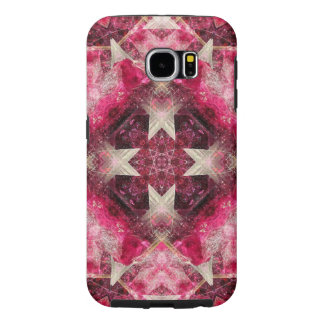 Crystal Matrix Mandala Samsung Galaxy S6 Cases