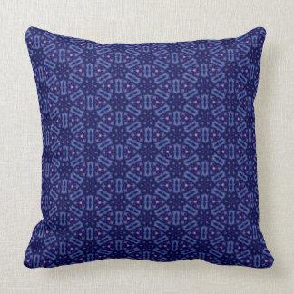 Crystal Matrix Pillow Blue & Purple