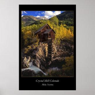 Crystal Mill Colirado Poster