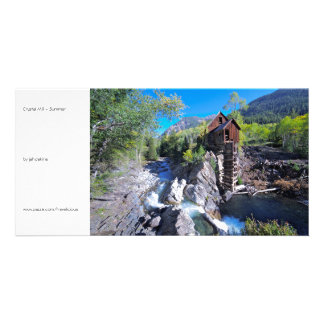 Crystal Mill - Summer Picture Card