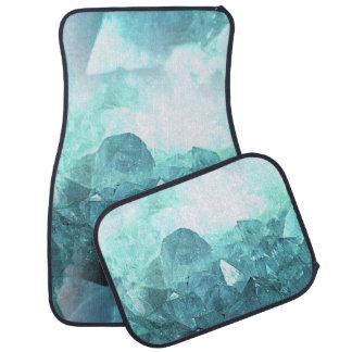 Crystal Mint Car Mat