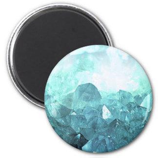 Crystal Mint Magnet