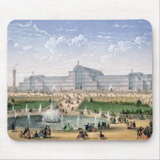 Crystal Palace, Sydenham, c.1862 (colour litho) Mouse Pad